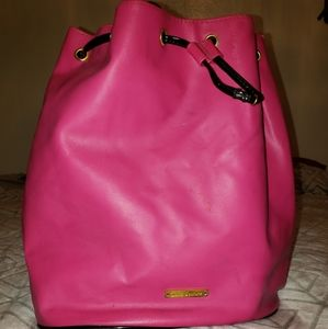Juicy Couture Pink Drawstring Backpack